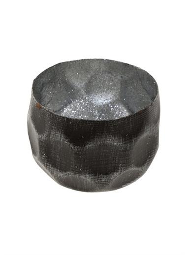 Boyner Evde Boyner Evde 8 cm Gümüş Dekoratif Tabak Renksiz